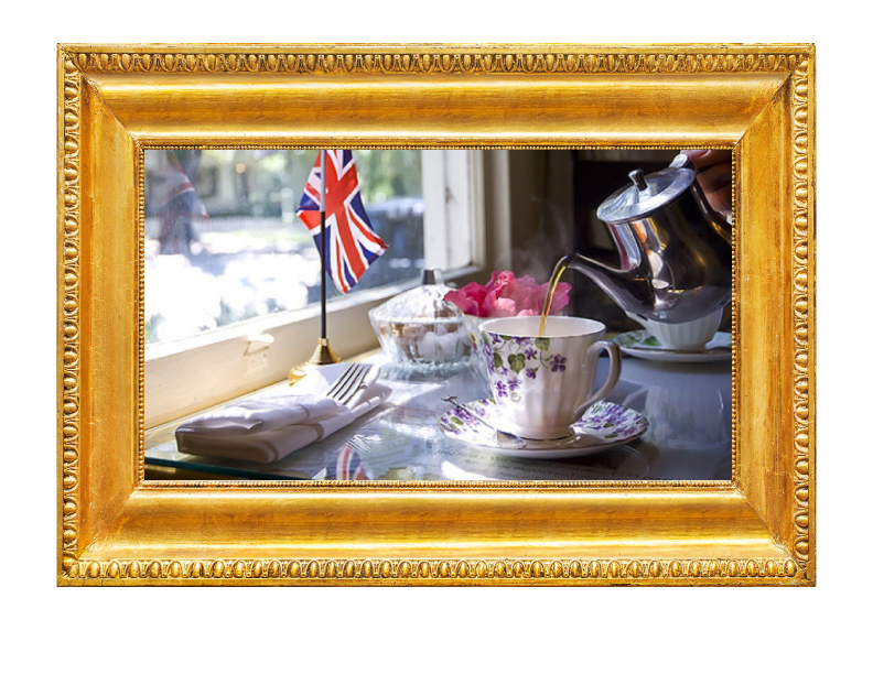 The English Tea Room: Country Roads Magazine